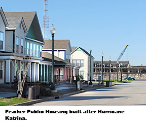 Fischer Public Housing built after Hurricane Katrina.
