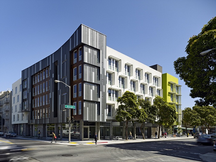 San francisco california permanent supportive housing for Cost of building a multi family house