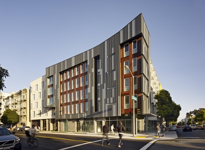 San francisco california permanent supportive housing for Affordable building