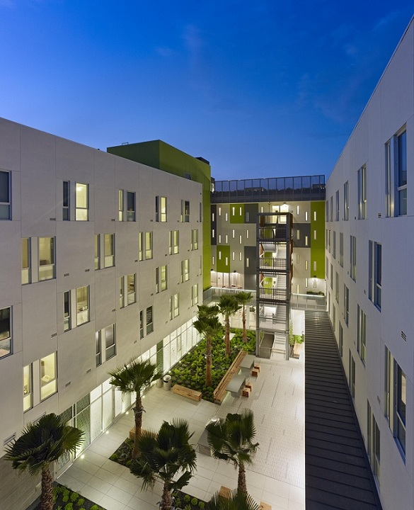 San francisco california permanent supportive housing for Residential lease for apartment or unit in multi family