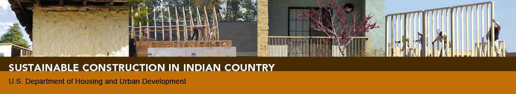 Sustainable Construction in Indian Country: U.S. DoH banner image