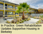 Green Rehabilitation Updates Supportive Housing in Berkeley