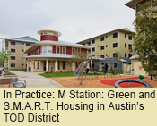 M Station: Green and S.M.A.R.T. Housing in Austin's TOD District