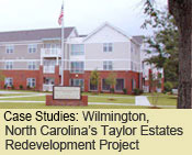 Wilmington, North Carolina's Taylor Estates Redevelopment Project
