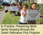 In Practice: Preserving Multifamily Housing through the Green Refinance Plus Program