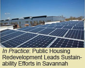 Public Housing Redevelopment Leads Sustainability Efforts in Savannah, Georgia