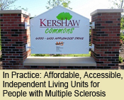 Affordable, Accessible, Independent Living Units for People with Multiple Sclerosis