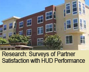 Surveys of Partner Satisfaction with HUD Performance