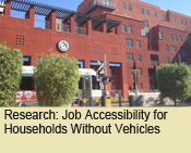 Job Accessibility for Households Without Vehicles