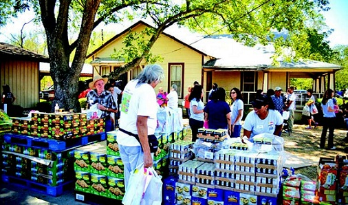 Food pantries in suburban areas are facing large increases in demand for assistance.