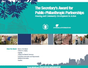 The Secretary's Award for Public-Philanthropic Partnerships