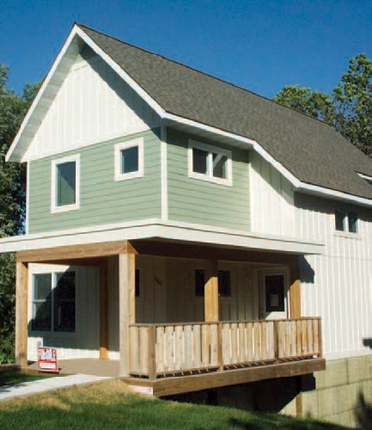 One Roof Community Housing was established by grassroots activists to provide affordable homeownership opportunities for residents of Duluth, Minnesota.