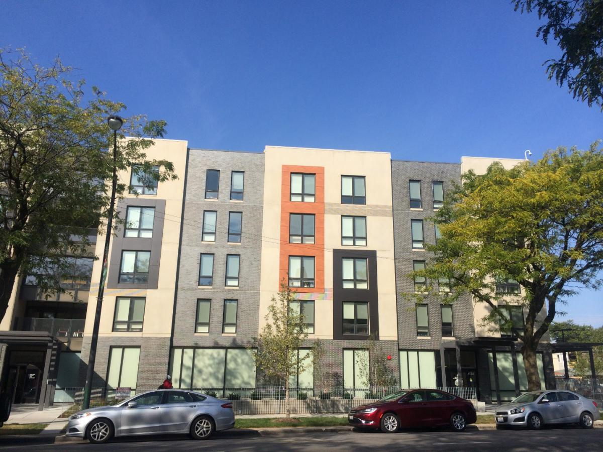 The Burnham's Affordable Senior Housing Helps Revitalize Chicago's Woodlawn Neighborhood