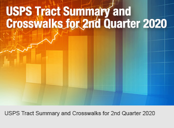 USPS Tract Summary and Crosswalks for 2nd Quarter 2020