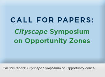 Call for Papers: Cityscape Symposium on Opportunity Zones