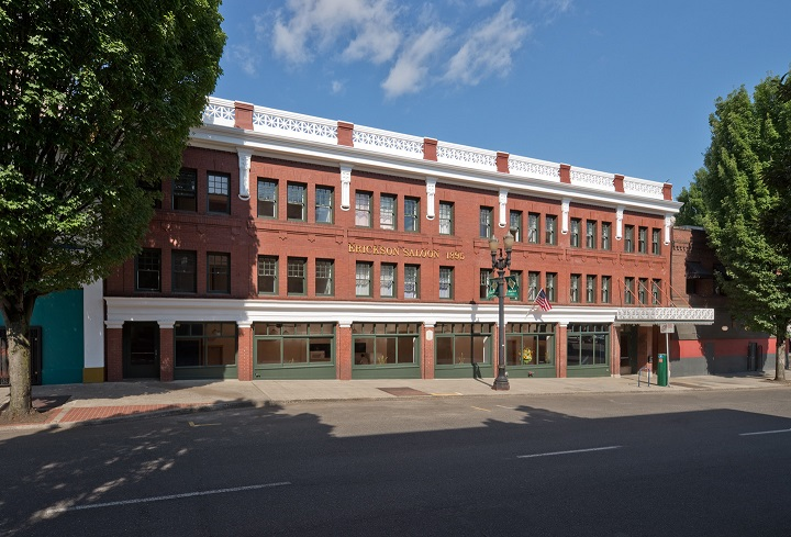 Portland, Oregon's Erickson Saloon and Fritz Hotel Transformed into Mixed-Income Housing
