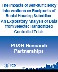 The Impacts of Self-Sufficiency Interventions on Recipients of Rental Housing Subsidies: An Exploratory Analysis of Data from Selected Randomized Controlled Trials