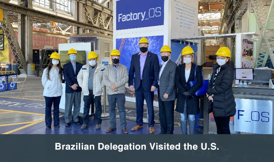 Brazilian Delegation Visited the U.S.