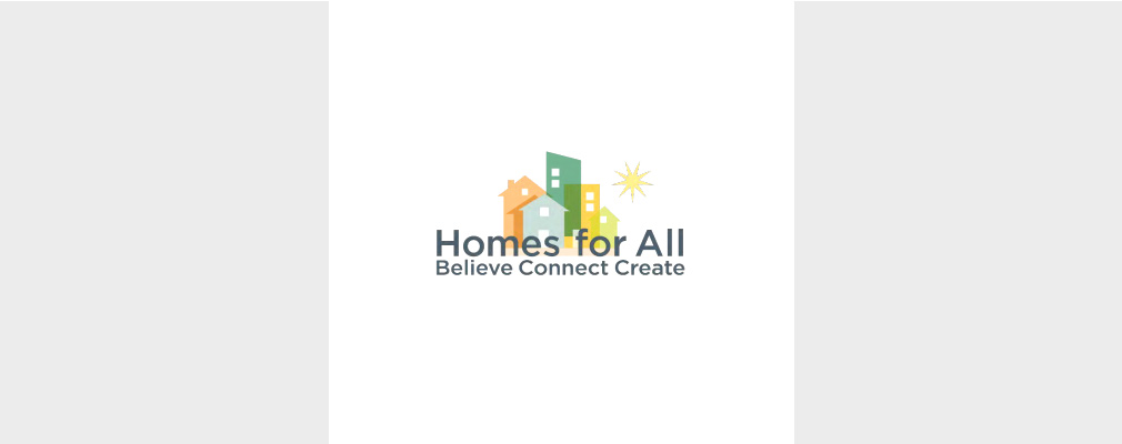 Logo for the Homes for All coalition.