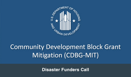 Disaster Funders Call
