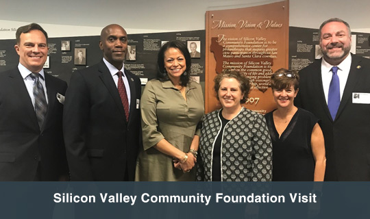 Silicon Valley Community Foundation Visit