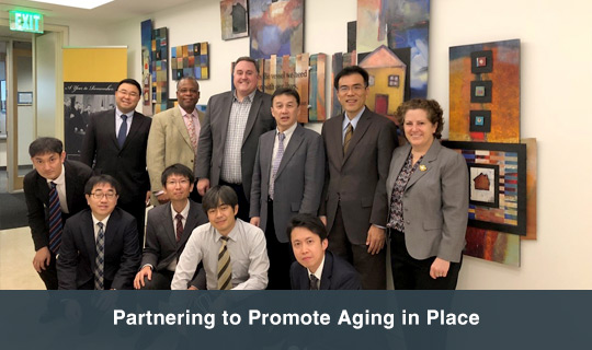 Partnering to Promote Aging in Place