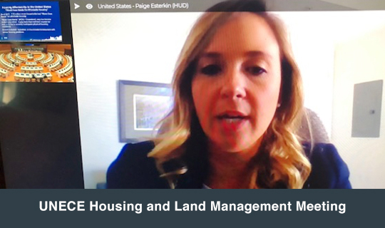 UNECE Housing and Land Management Meeting