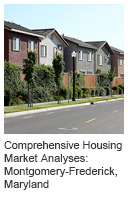 Comprehensive Housing Market Analyses: Montgomery-Frederick, Maryland