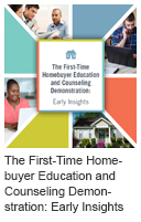 The First-Time Homebuyer Education and Counseling Demonstration: Early Insights