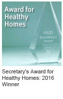 2016 HUD Secretary's Award for Healthy Homes