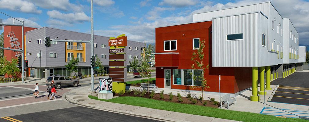 Anchorage Alaska Community Revitalization In Mountain