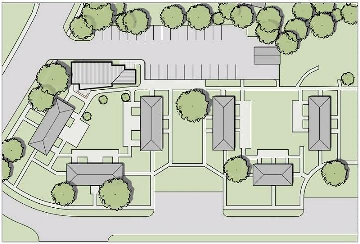 Leominster massachusetts allencrest community center for Apartment design case study