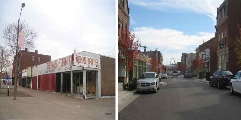 St Louis Missouri Crown Square Historic Rehabilitation