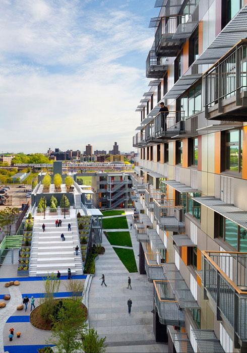 Bronx New York Innovative Design of Via Verdes Affordable