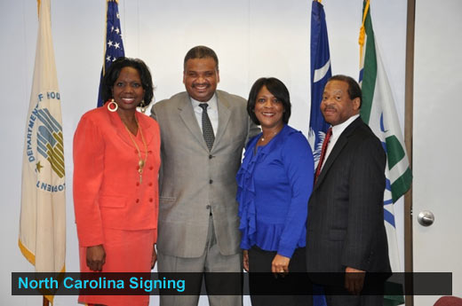 North Carolina Signing