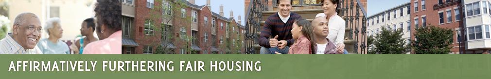 Affirmatively furthering fair housing plan