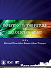 Investing in the Future of Urban Scholarship