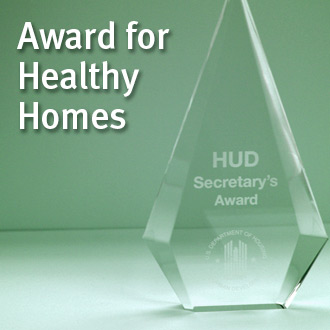 Award for Healthy Homes image