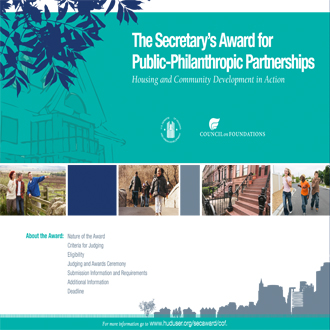 The Secretary's Award for Public-Philanthropic Partnerships - Housing and Community Development in Action