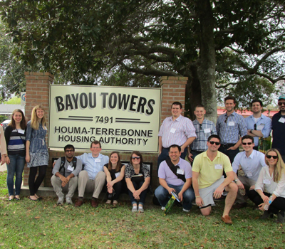 Student Finalists Participate in Site Visit to New Orleans, LA