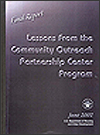 Lessons From the Community Outreach Partnership Centers Program: Final Report