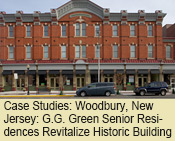 Case Studies: Woodbury, New Jersey: G.G. Green Senior Residences Revitalize Historic Building