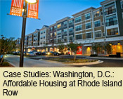 Case Studies: Washington, D.C.: Affordable Housing at Rhode Island Row