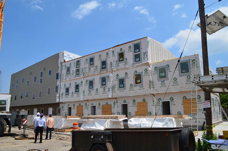 Mixed income modular townhomes in jersey city hud user for Townhouse construction cost