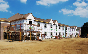 LEED project under construction by Hudson Companies, who uses energy modeling to identify needed design improvements.
