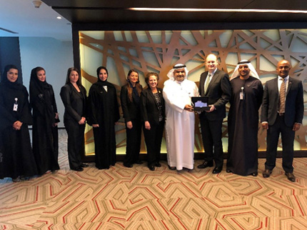 HUD Delegation visits the Abu Dhabi Housing Authority