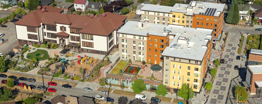 Seattle, Washington: Mixed-Use Development Provides