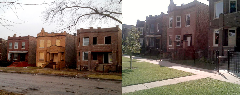 Chicago Illinois The City S Troubled Building Initiative Renovates And Preserves Deteriorating Apartments Hud User