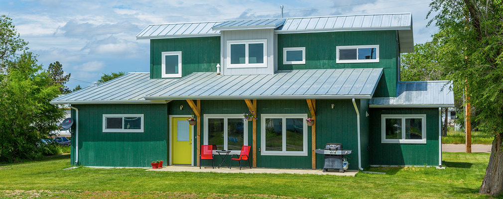 Fort Peck Indian Reservation Montana Expanding Housing