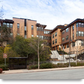 Orinda, California: Monteverde Senior Apartments' Design Accommodates a Steeply Sloped Site